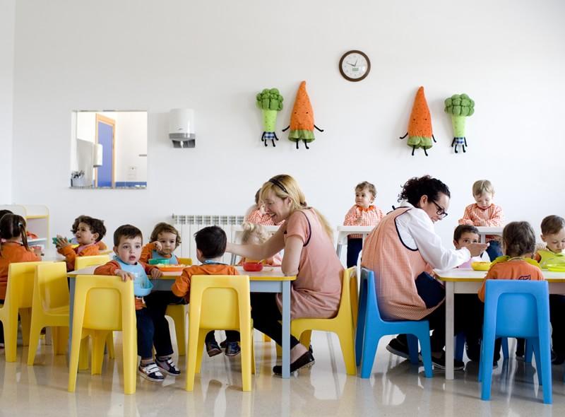 Comedor de la Escuela Infantil Municipal de Loriguilla