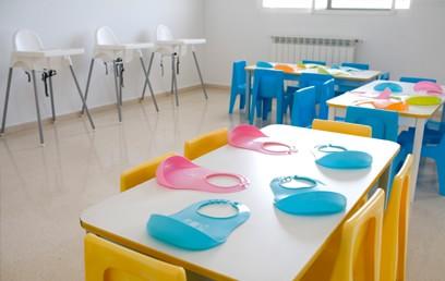 Servicios de la escuela infantil de loriguilla for Comedor infantil