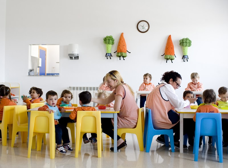 Comedor de la escuela infantil municipal de loriguilla for Comedor de escuela